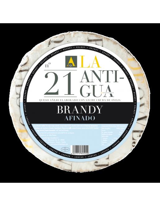 La Antigua Queso de Oveja Añejo con Manteca al Brandy