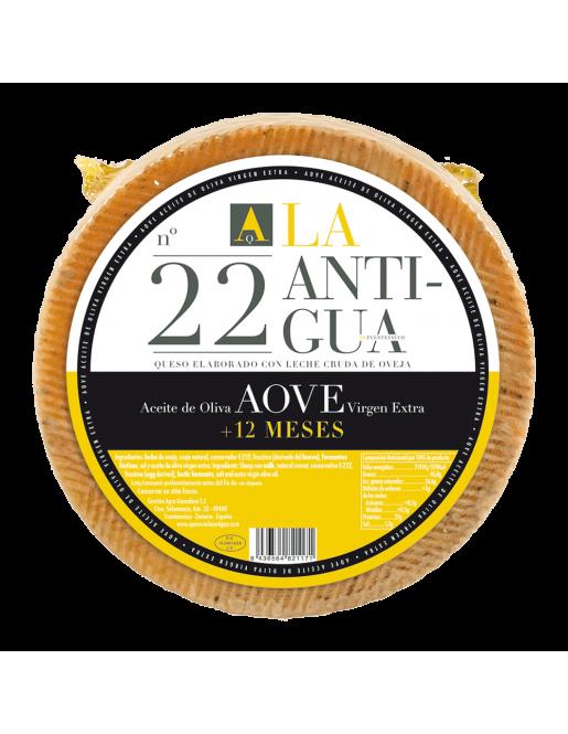 La Antigua Queso Añejo en Aceite de Oliva Virgen Extra