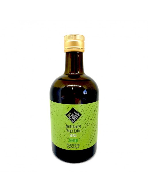 Aceite de Oliva Virgen Extra Verde 500 ML.