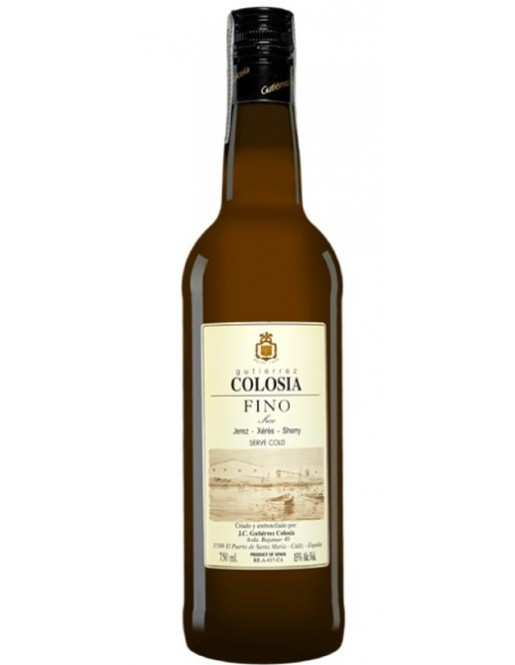 FINO GUTIÉRREZ COLOSÍA 75 CL.