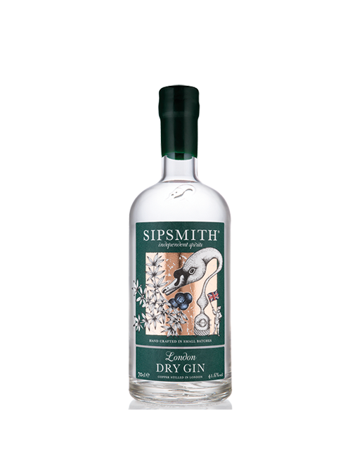 SIPSMITH LONDON DRY GIN 70CL.